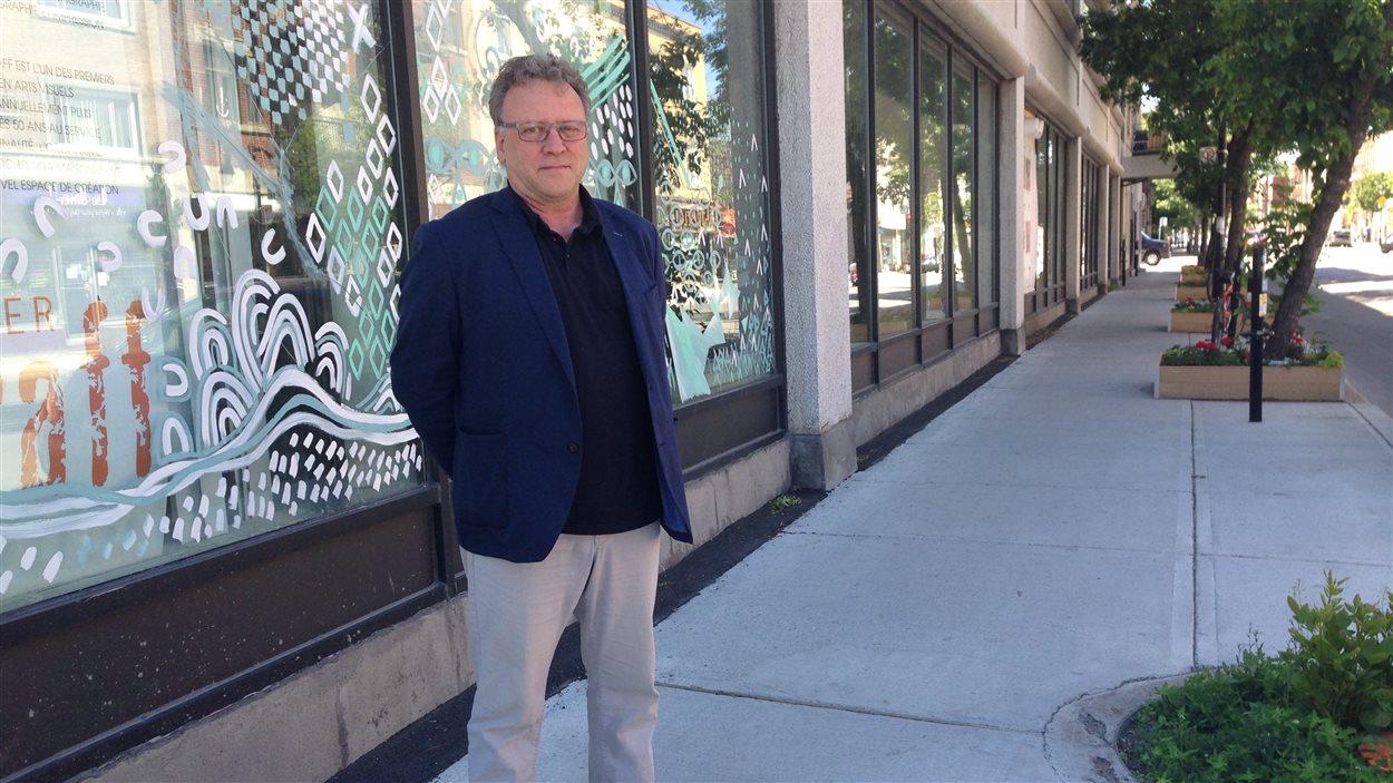 Gilles Renaud, directeur général des Ateliers créatifs Montréal