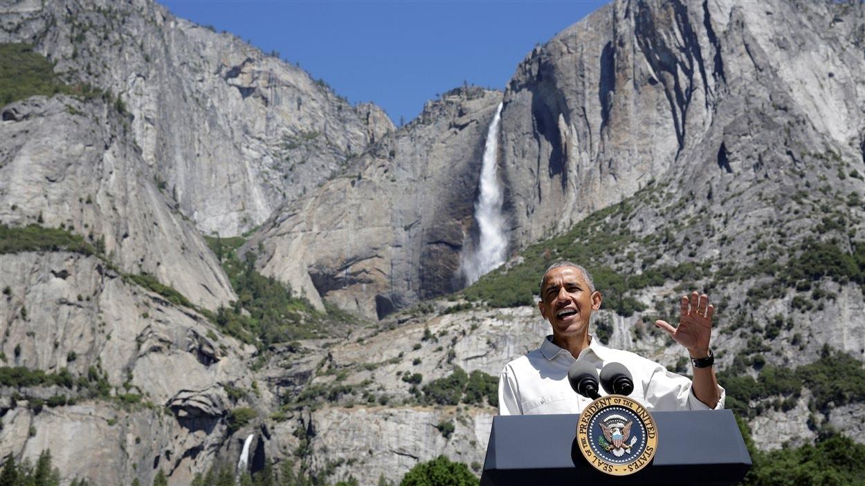 Barack Obama au parc Yosémite