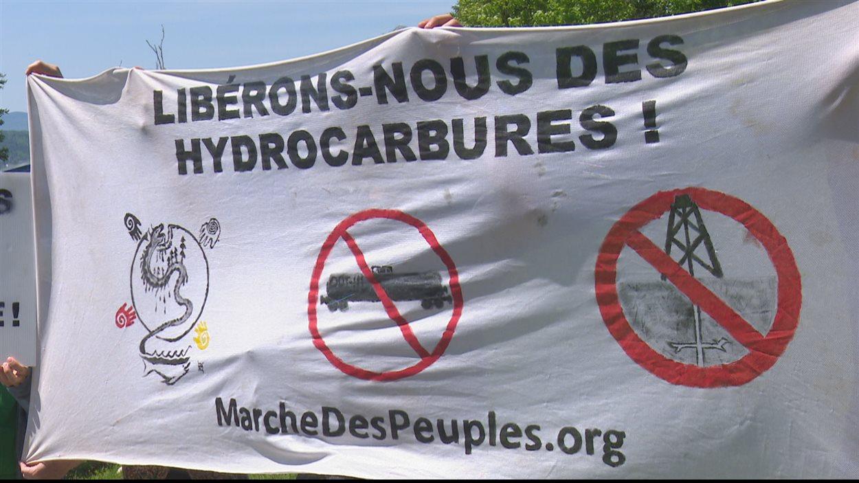 La manifestation a eu lieu au Musée de la Gaspésie