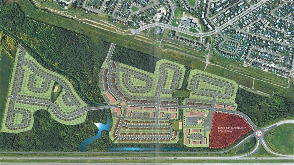 Le projet du Faubourg La Prairie