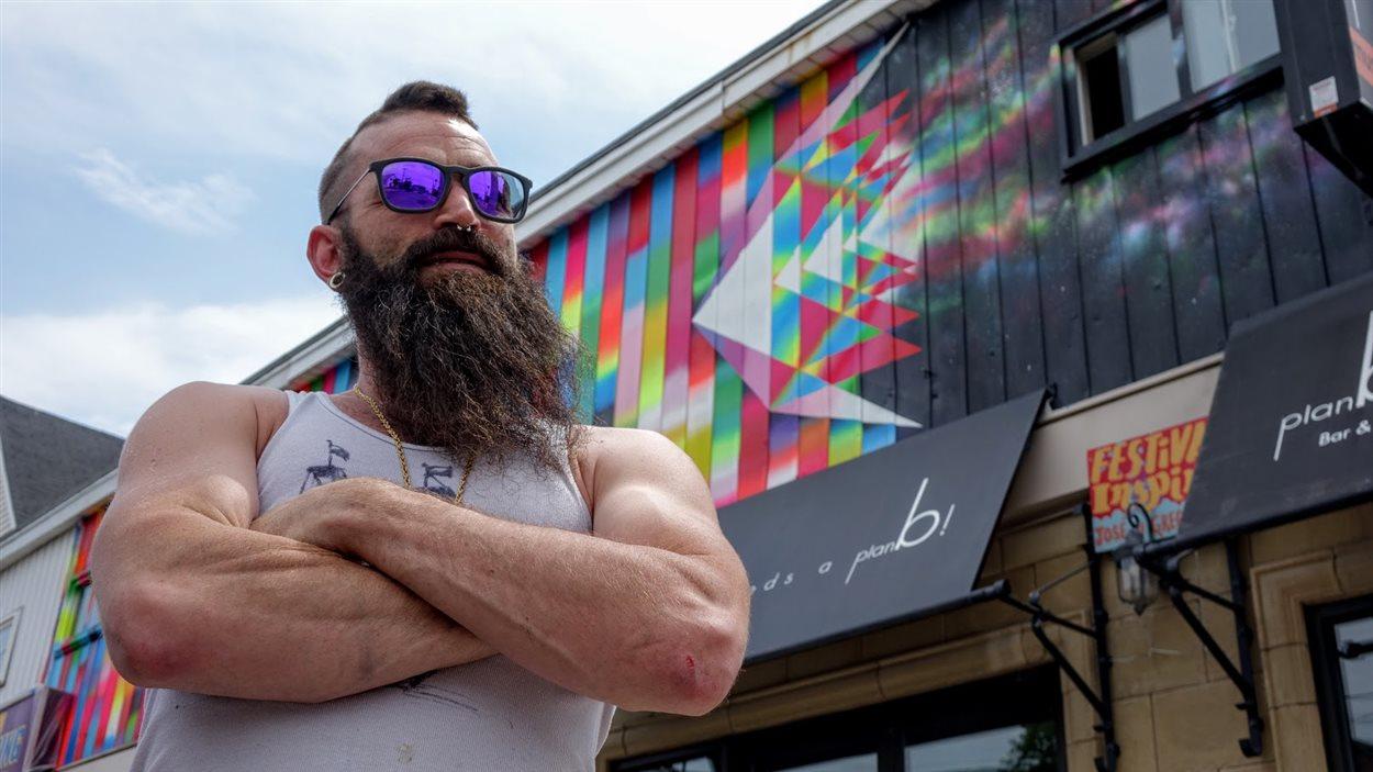 Le directeur artistique du festival Inspire Matthew Williston