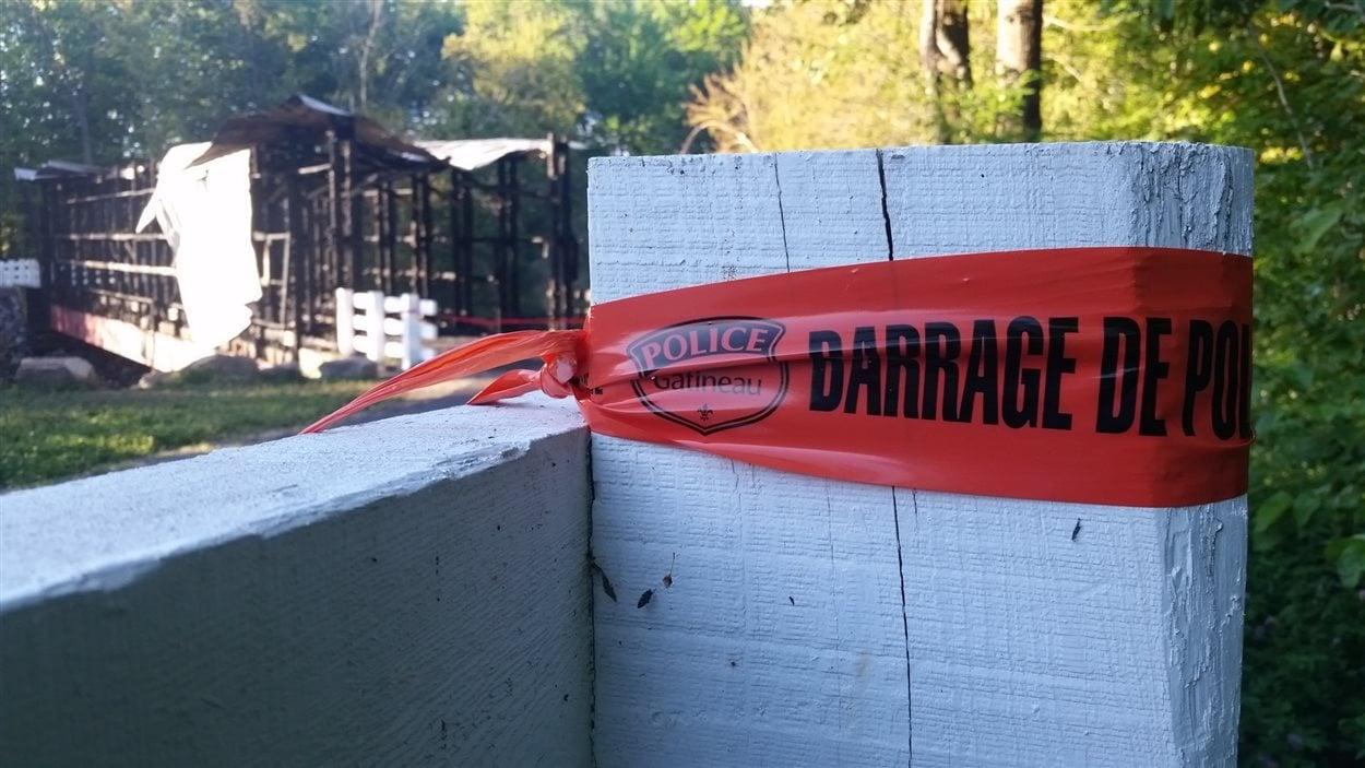 Les dommages sont évalués à 1 million de dollars.