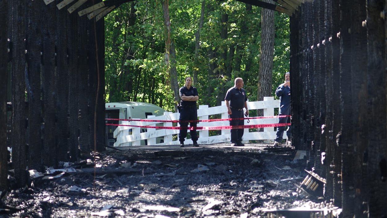 L'incompréhension prédomine après l'incendie du pont Brabant-Philippe.