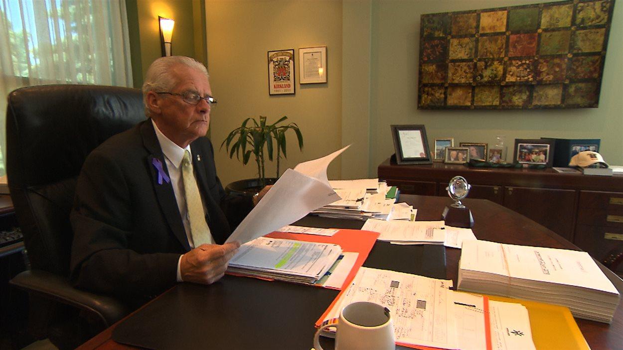 Michel Gibson, maire de Kirkland