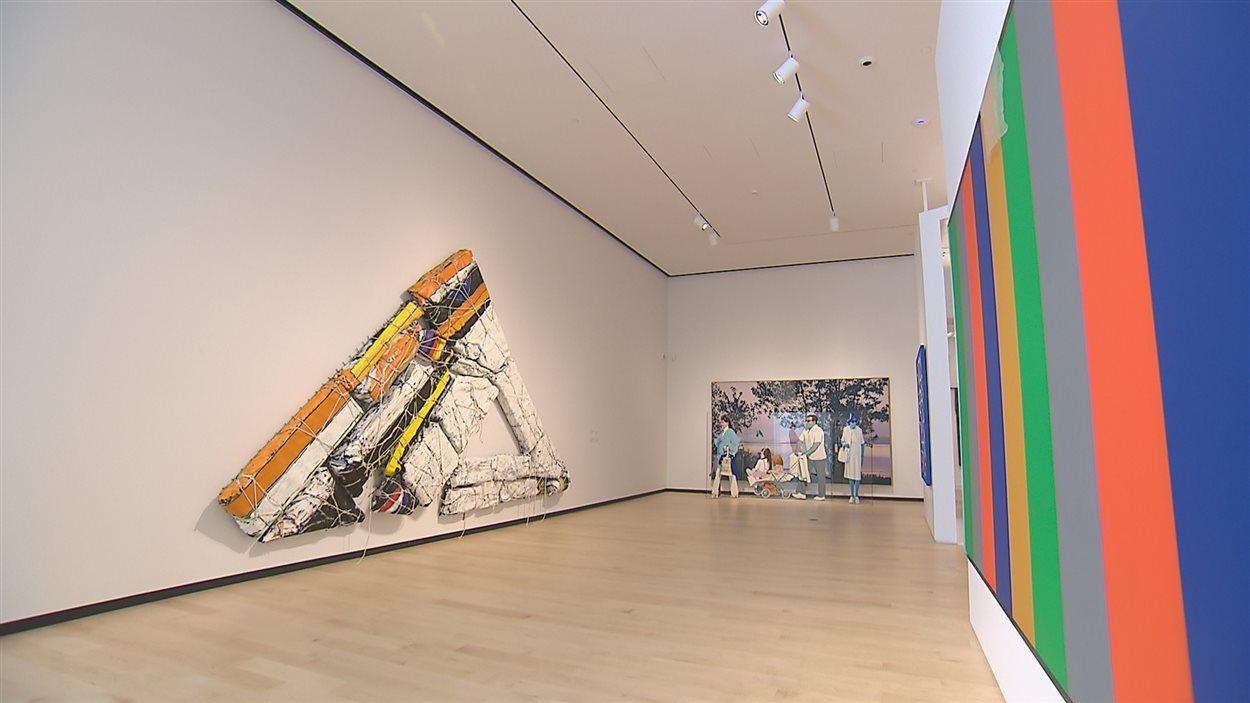 Le pavillon est dédié à l'art contemporain du Québec.
