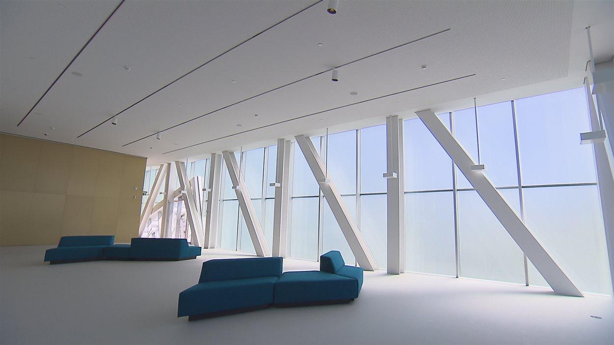 Espace de détente au pavillon Lassonde