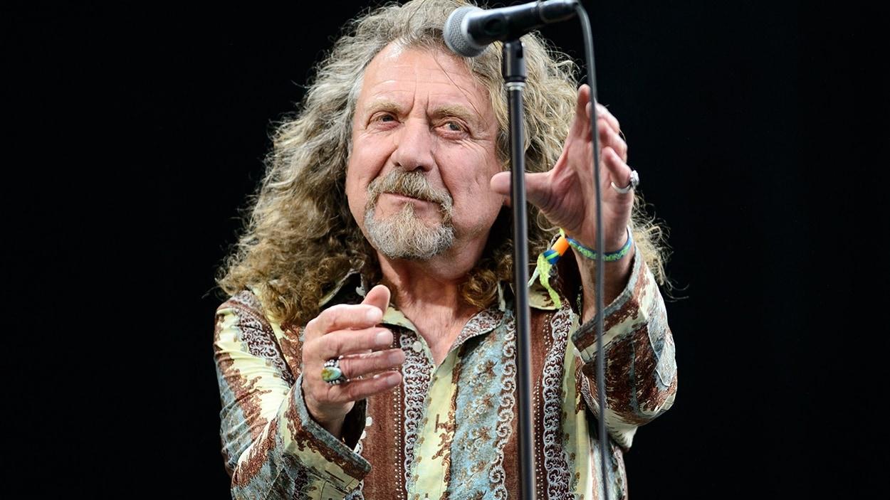 Robert Plant sur scène en 2014