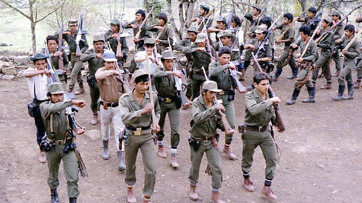 Des combattants des FARC