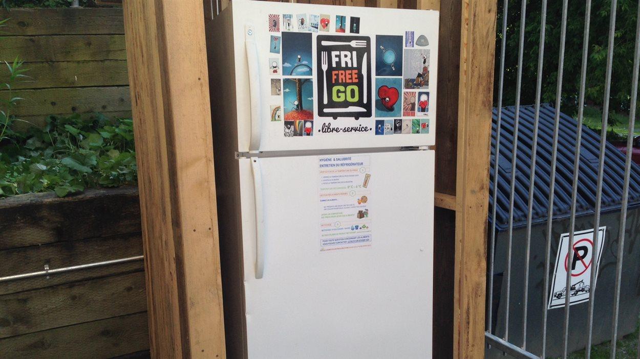 Le réfrigérateur communautaire de Sherbrooke