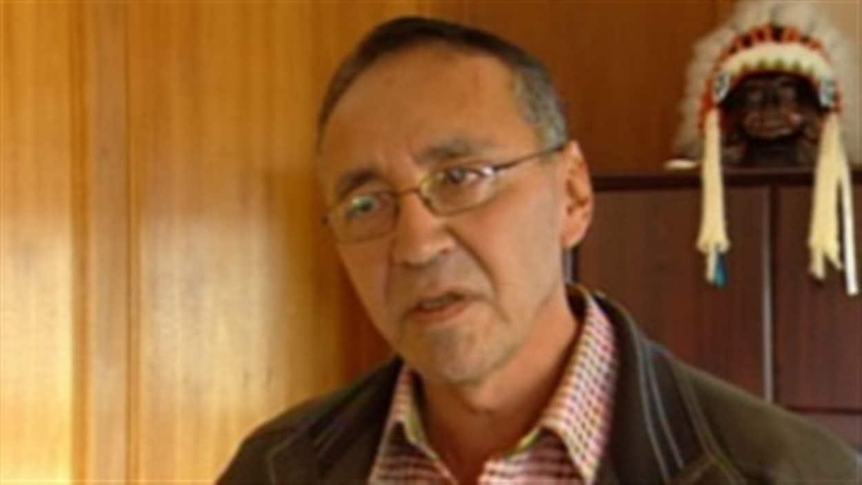 Jim Boucher est le chef de la Première Nation de Fort McKay.