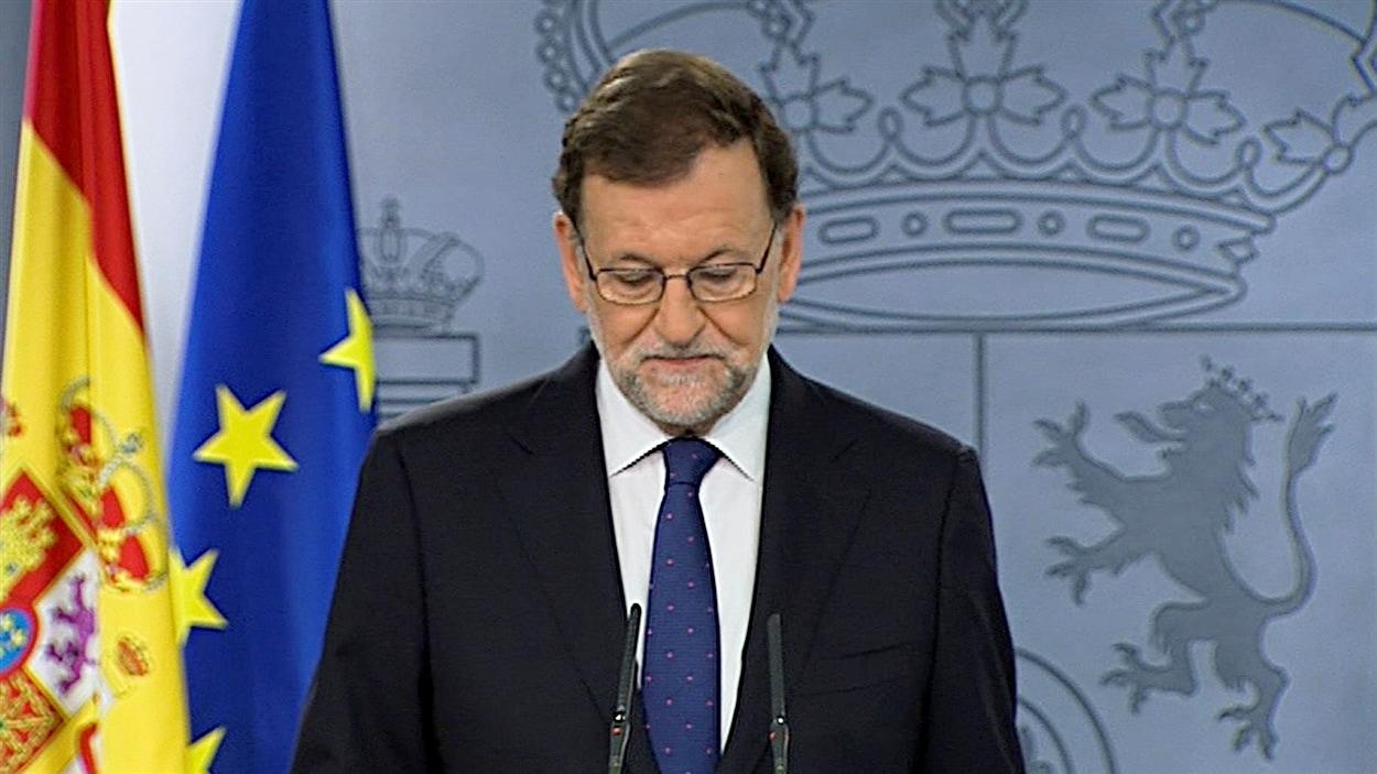 Le président espagnol Mariano Rajoy