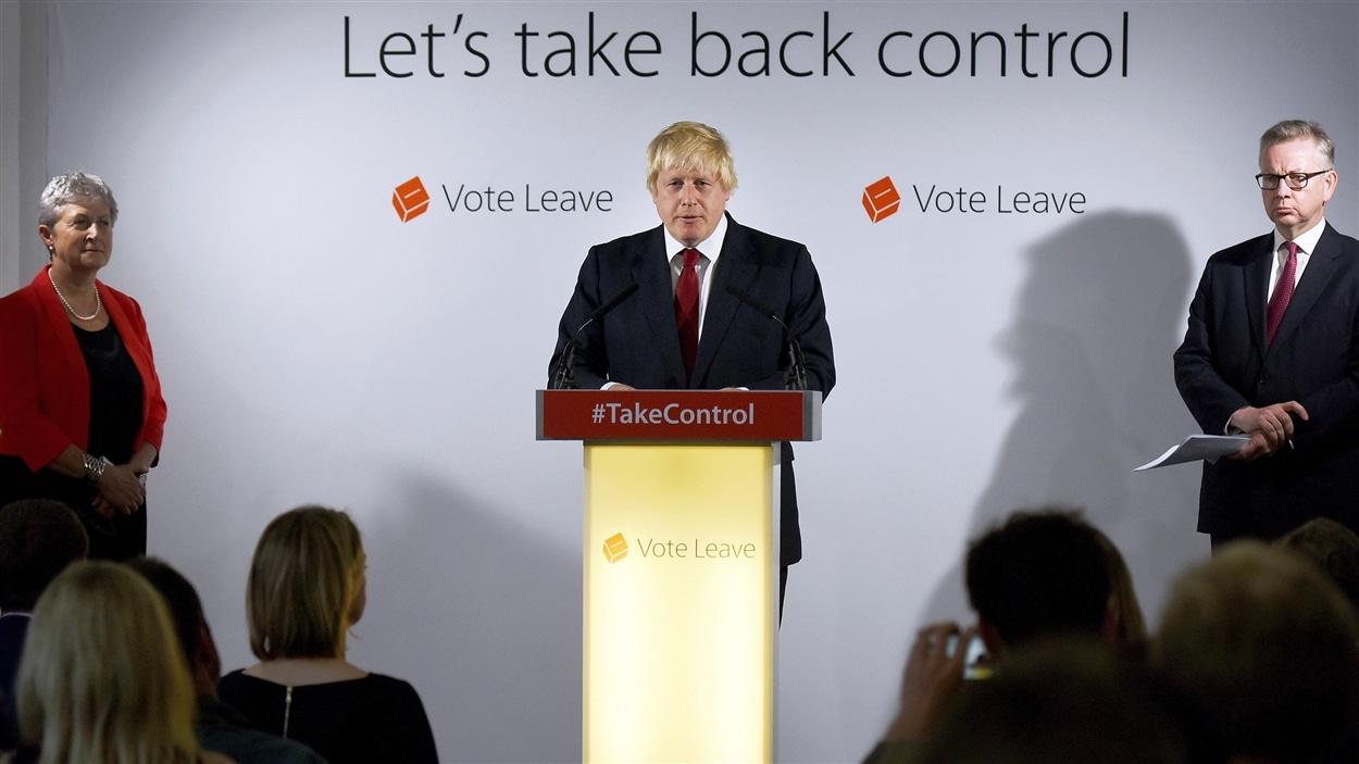 L'un des chefs de file du camp du Brexit et ancien maire de Londres, Boris Johnson, affirme que la transition se fera tout en douceur.