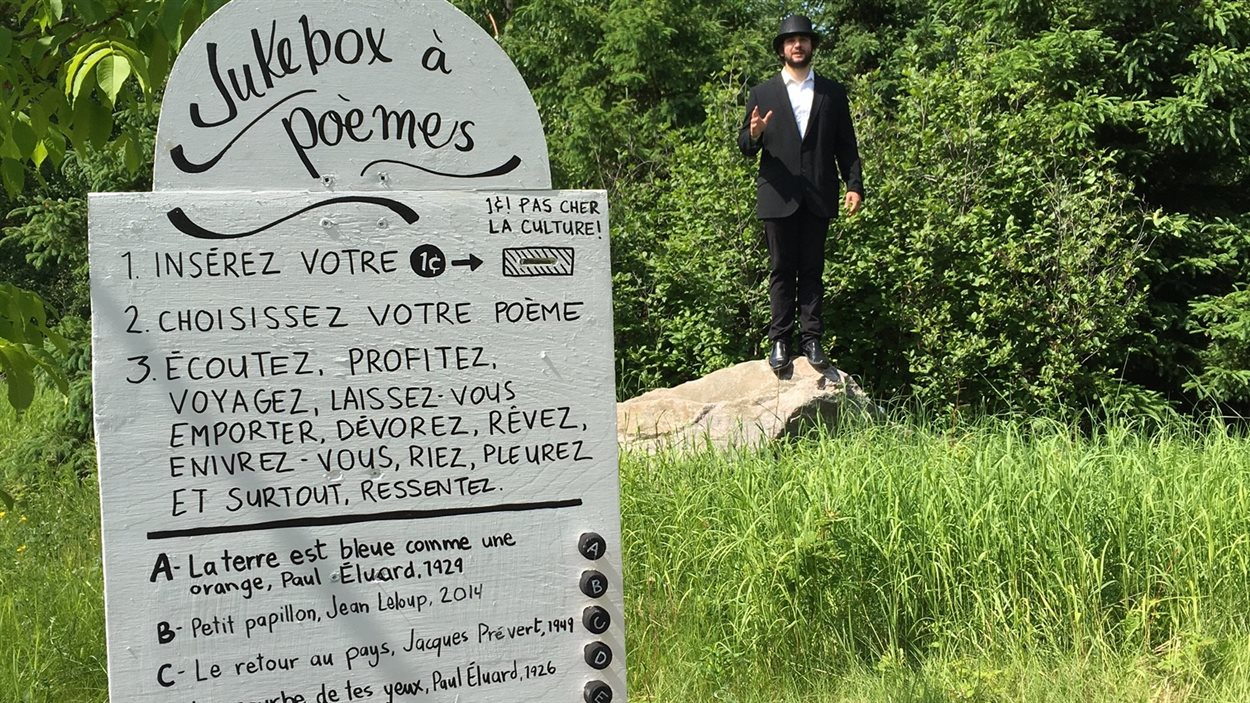 jukebox à poème