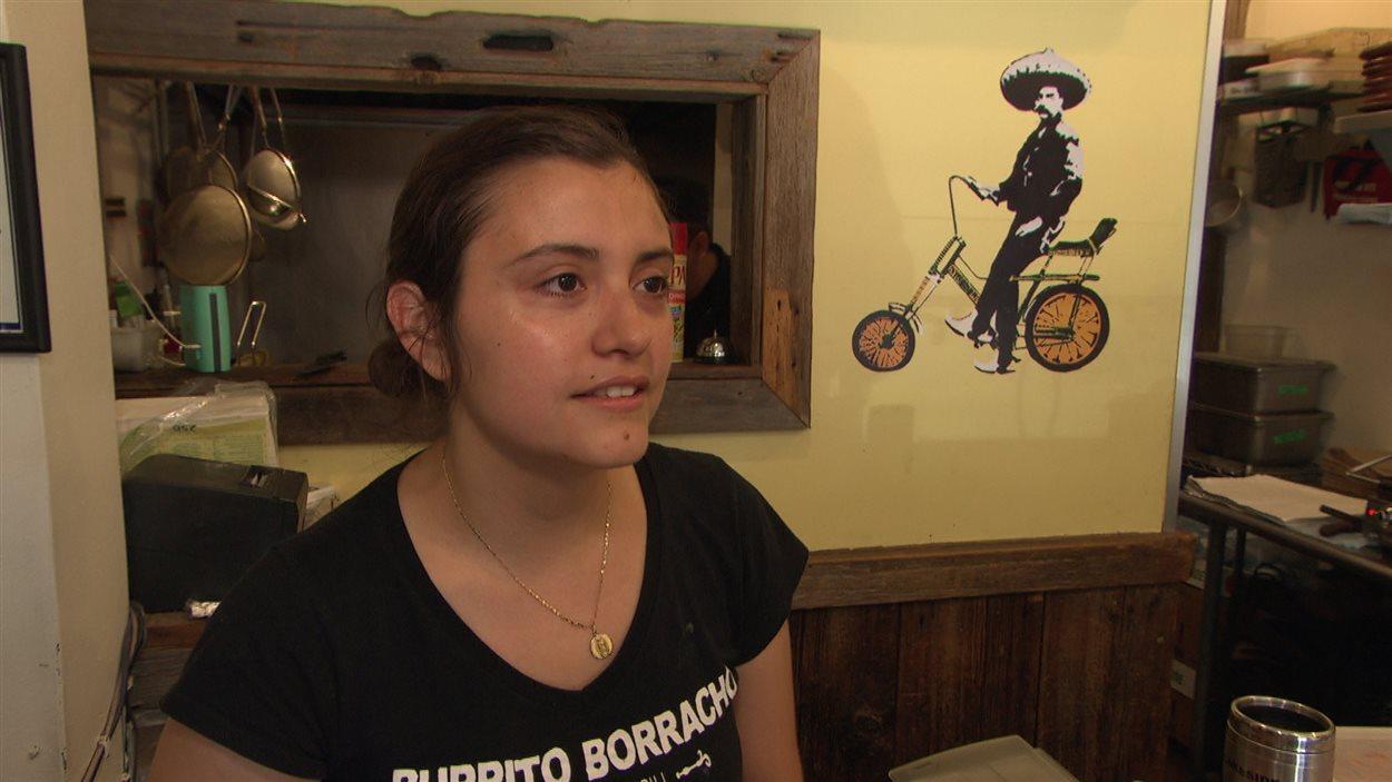 Fabiola Orozca souhaite que la visite d'Enrique Peña Nieto porte sur les vrais enjeux du Mexique.
