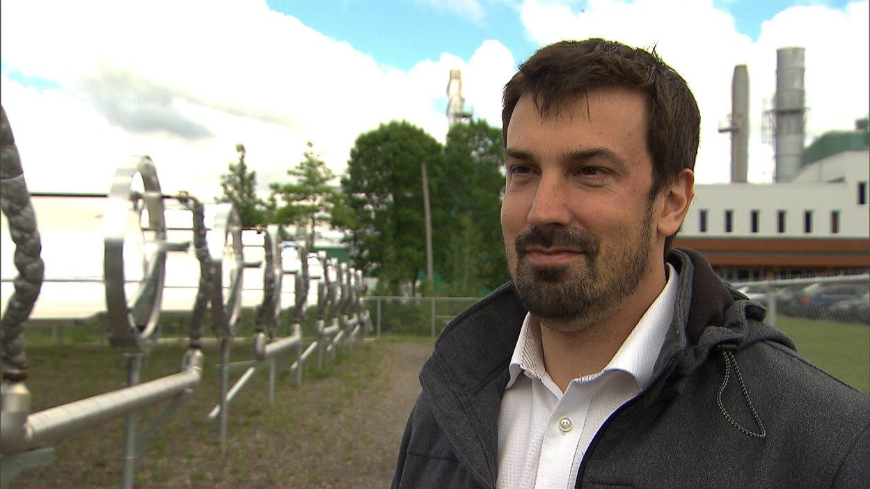 Mathieu Chagnon, président de Rackam