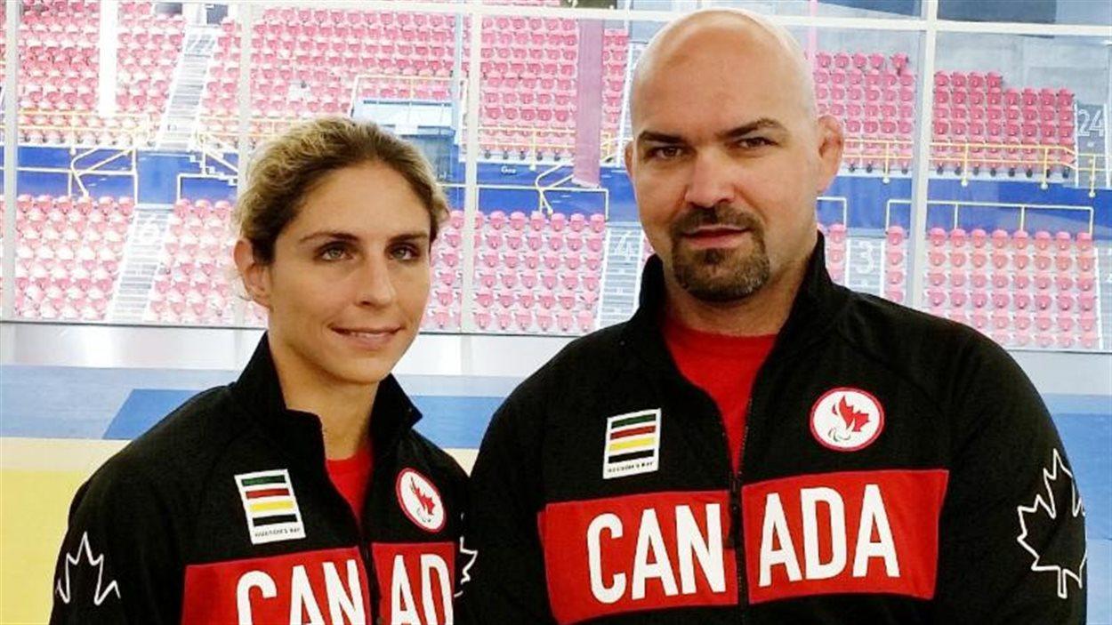 Les judokas Priscilla Gagné et Tony Walby iront aux Jeux paralympiques de Rio.