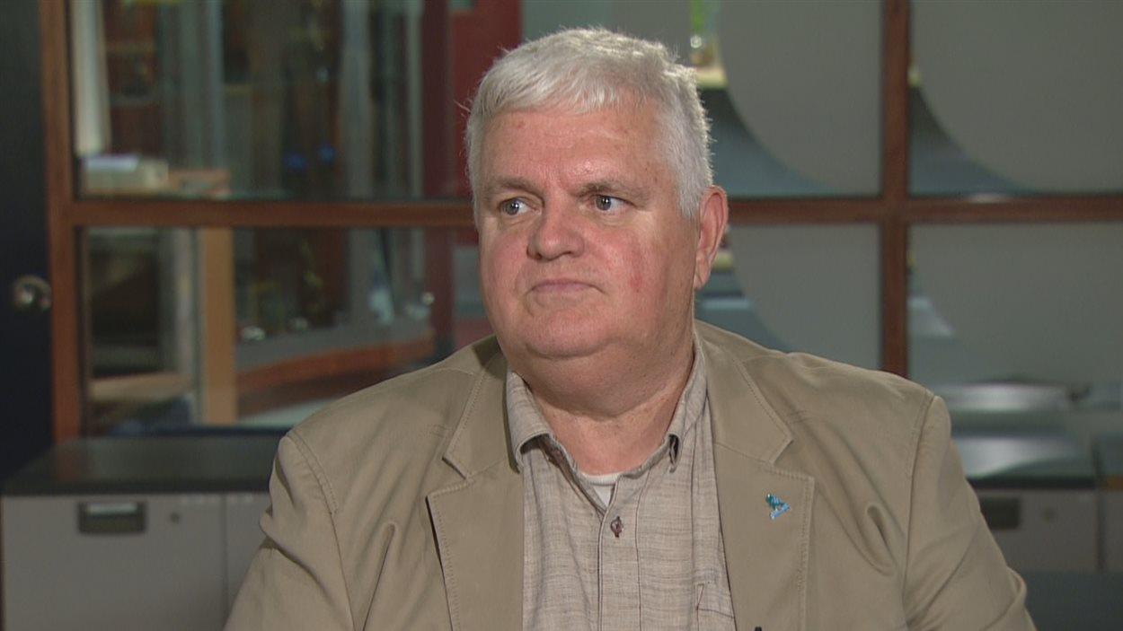 Florent Gravel, président-directeur général de l'Association des détaillants en alimentation du Québec
