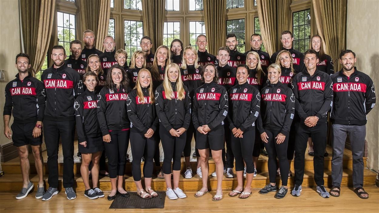 L'équipe canadienne d'aviron pour les Jeux de Rio