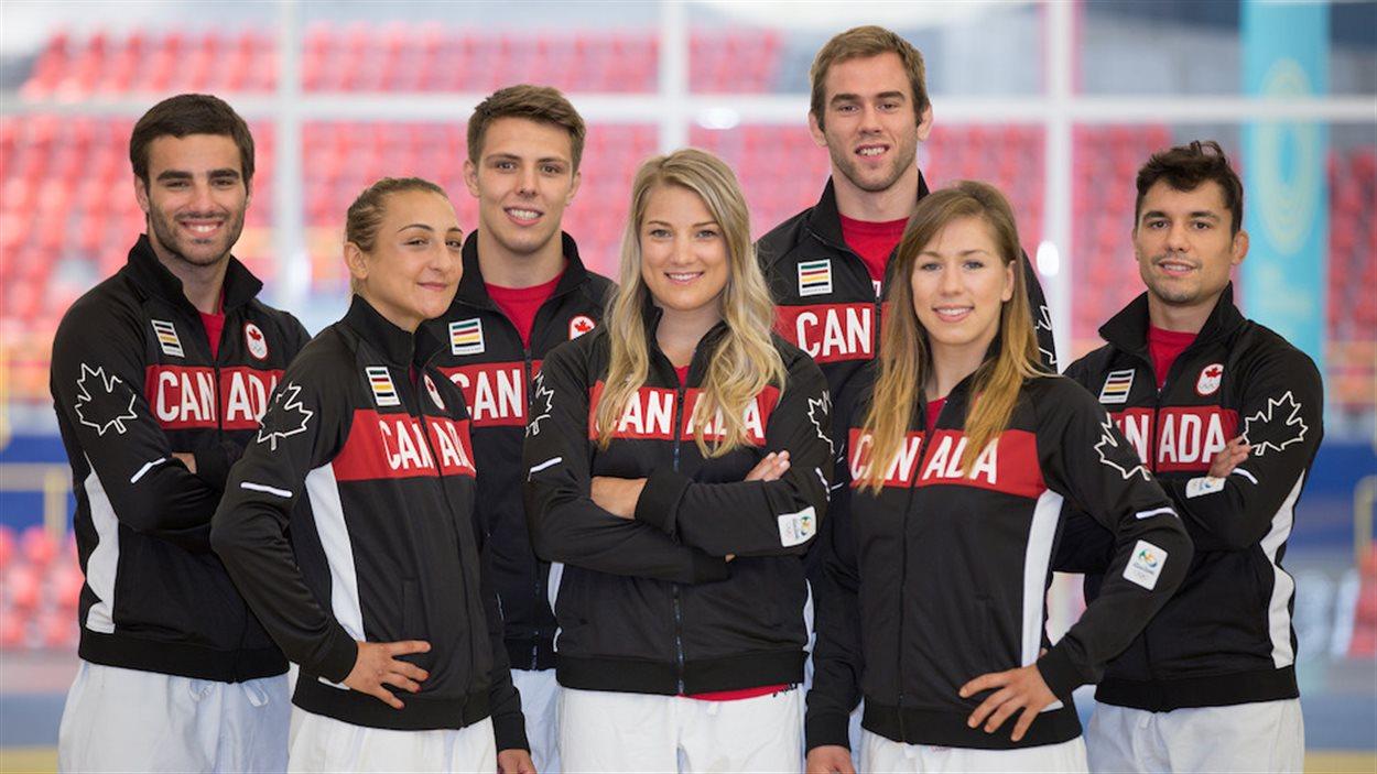 Les judokas Antoine Bouchard, Ecaterina Guica, Arthur Margelidon, Kelita Zupancic, Antoine Valois-Fortier, Catherine Beauchemin-Pinard et Sergio Pessoa Jr représenteront le Canada aux Jeux olympiques de Rio.