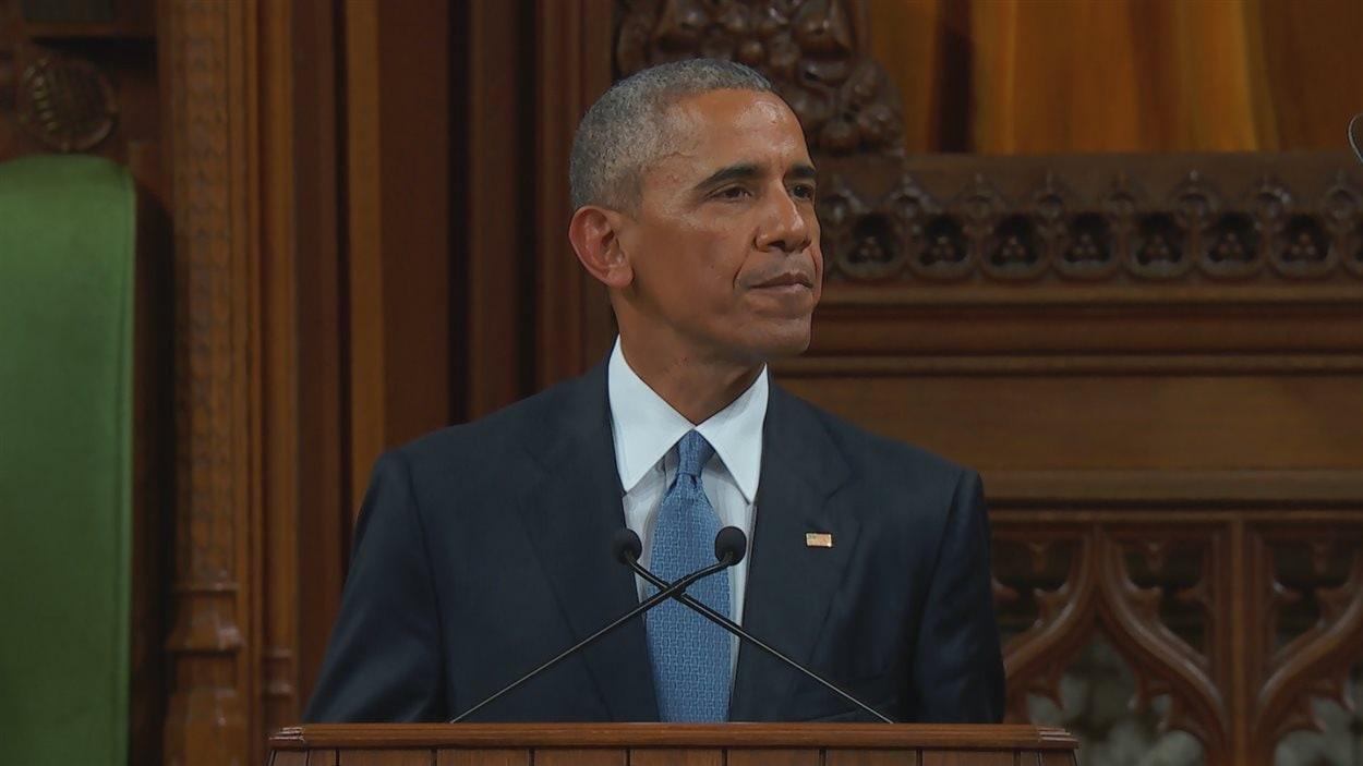 Barack Obama à la Chambre des communes
