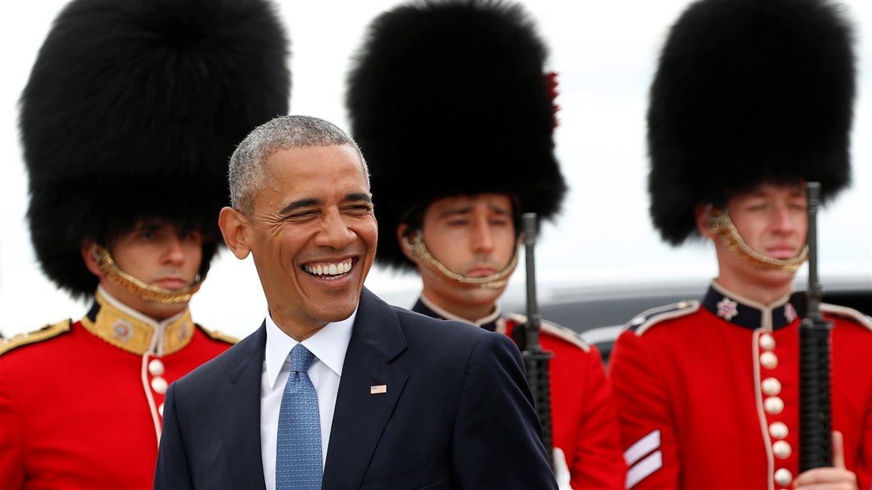 Barack Obama à Ottawa