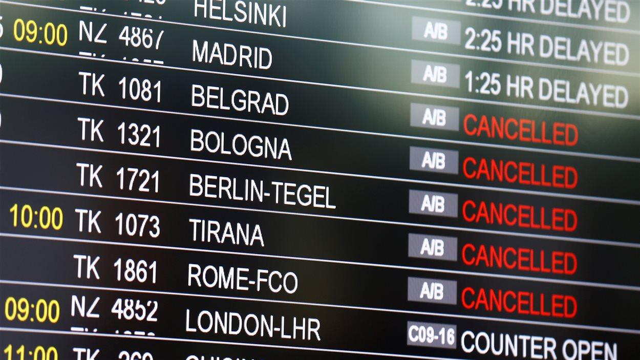 L'état des vols à l'aéroport d'Istanbul au lendemain des explosions