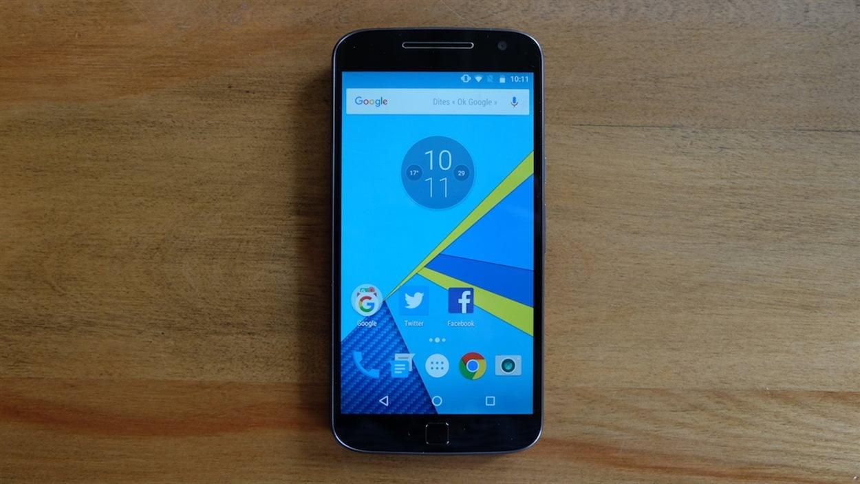 Le téléphone Moto G Plus de Lenovo