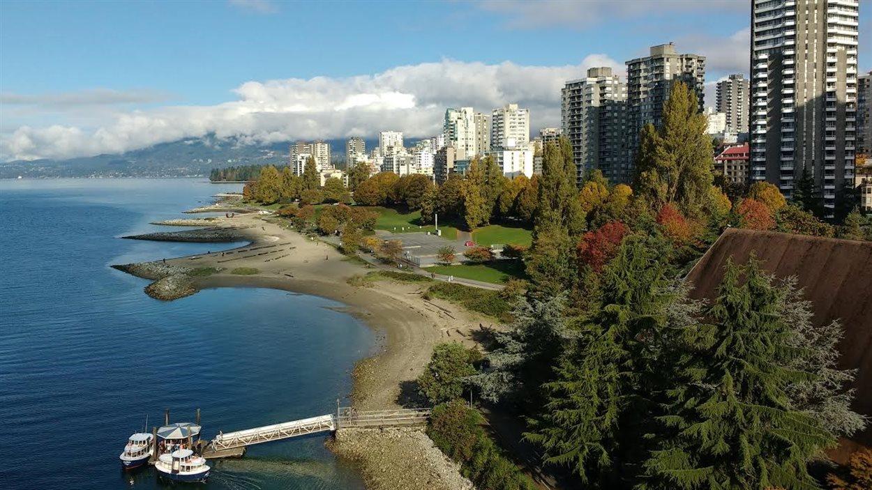 English Bay à Vancouver