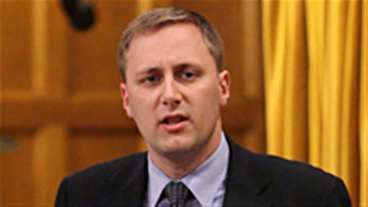 Le député conservateur Brad Trost