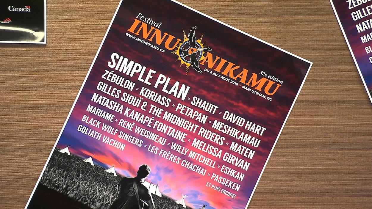 Le festival Innu Nikamu revient du 4 au 7 août prochain, à Mani-Utenam, près de Sept-Îles.