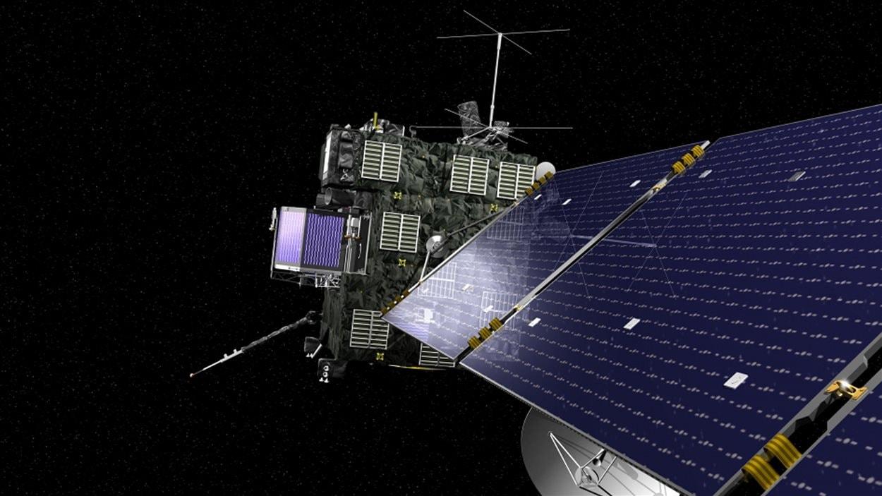 Apperçu de la sonde Rosetta