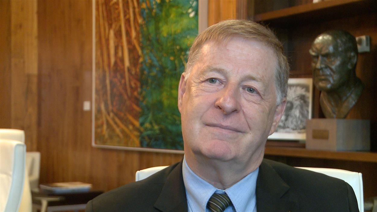 Le maire de Laval, Marc Demers.