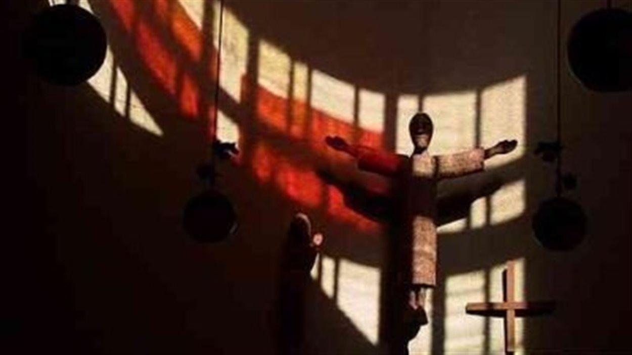 L'intérieur de la Basilique-Cathédrale de Saint-Boniface, au Manitoba