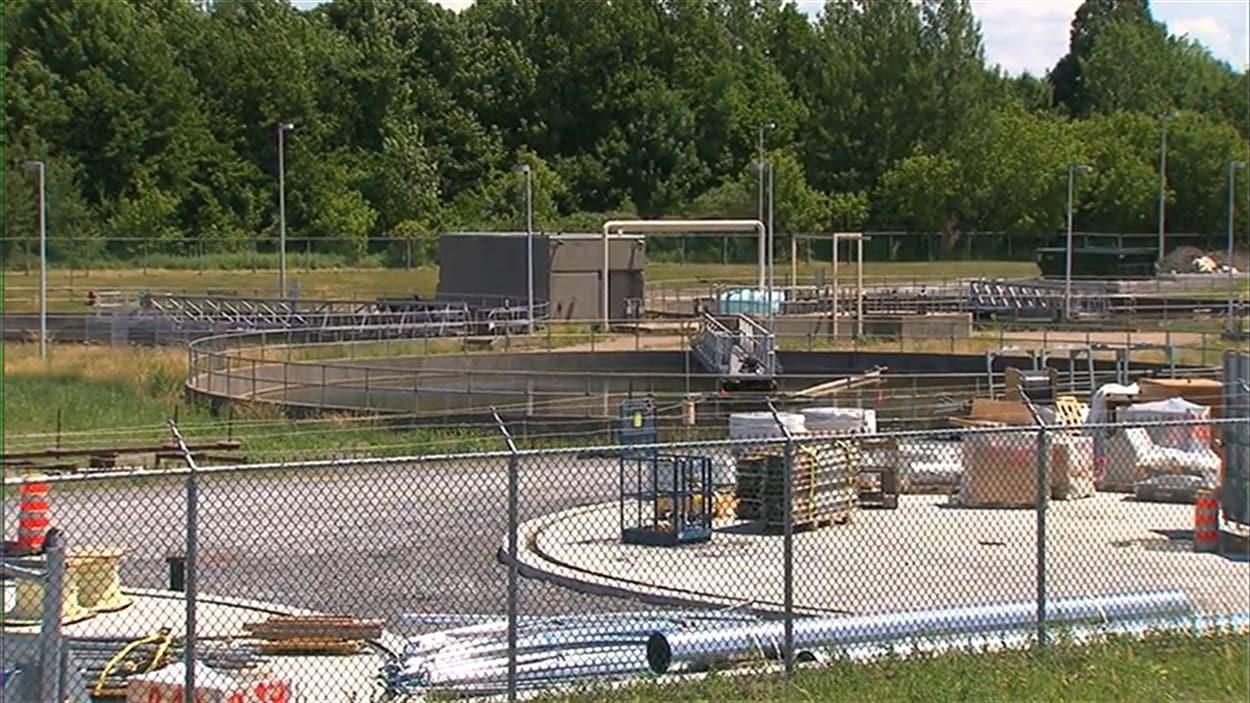 Un déversement des eaux usées était planifié dans les travaux de la station d'épuration de Saint-Hyacinthe.