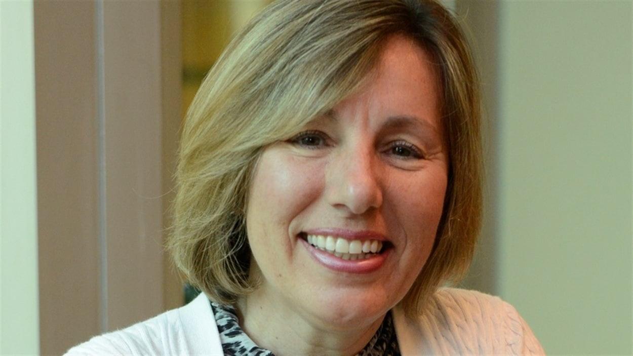 Laurie Gaborit, directrice aux relations avec les investisseurs chez Detour Gold