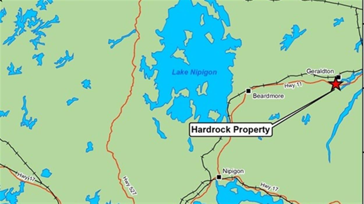 Projet de mine Hardrock à Greenstone