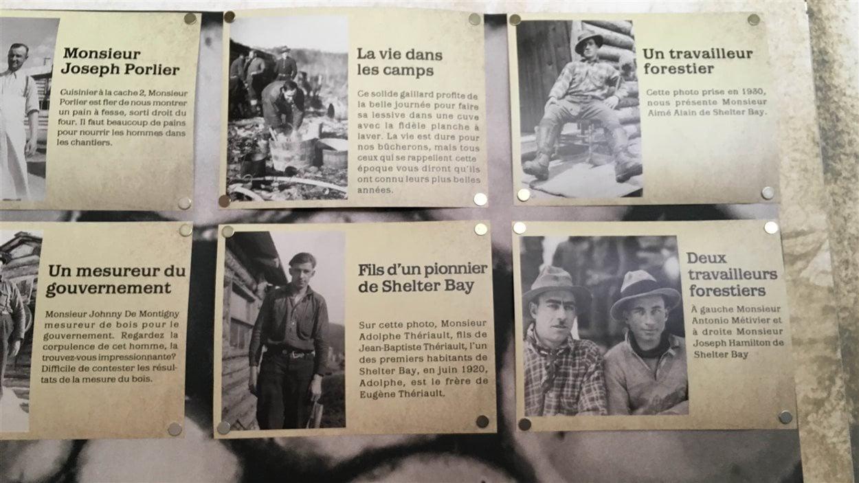 Des personnages importants des tous débuts de Port-Cartier.
