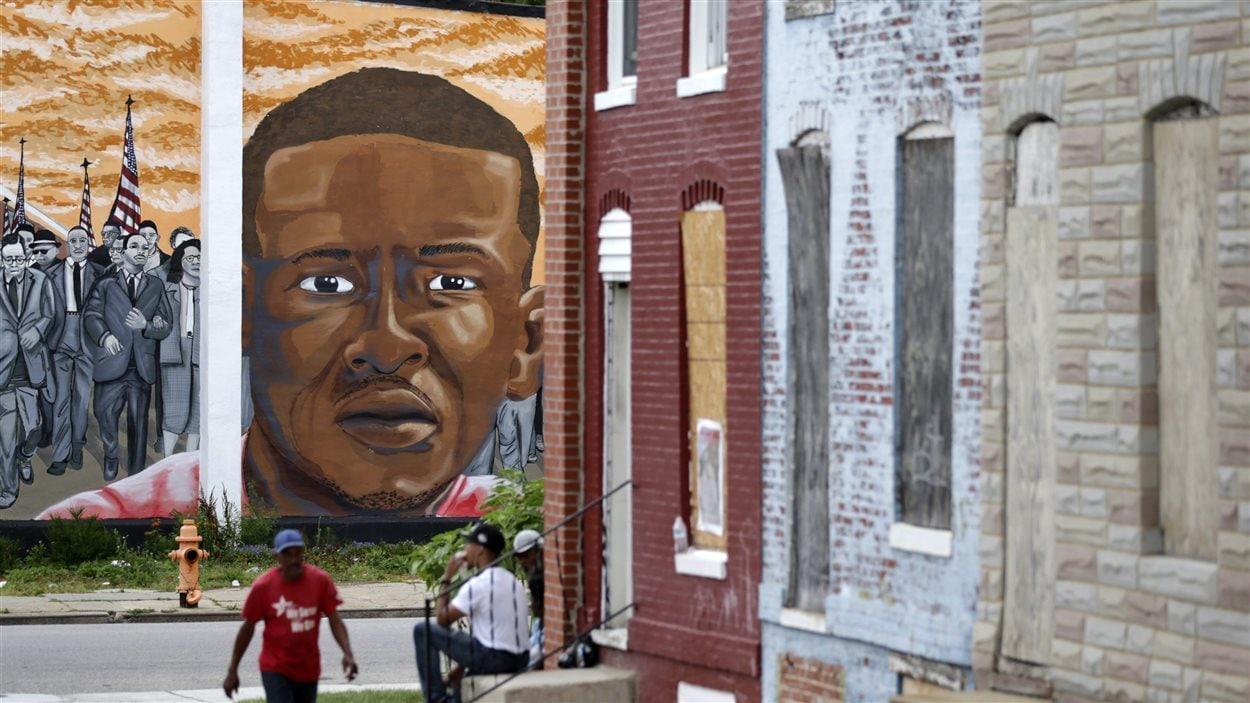 Une murale en l'honneur de Freddie Gray