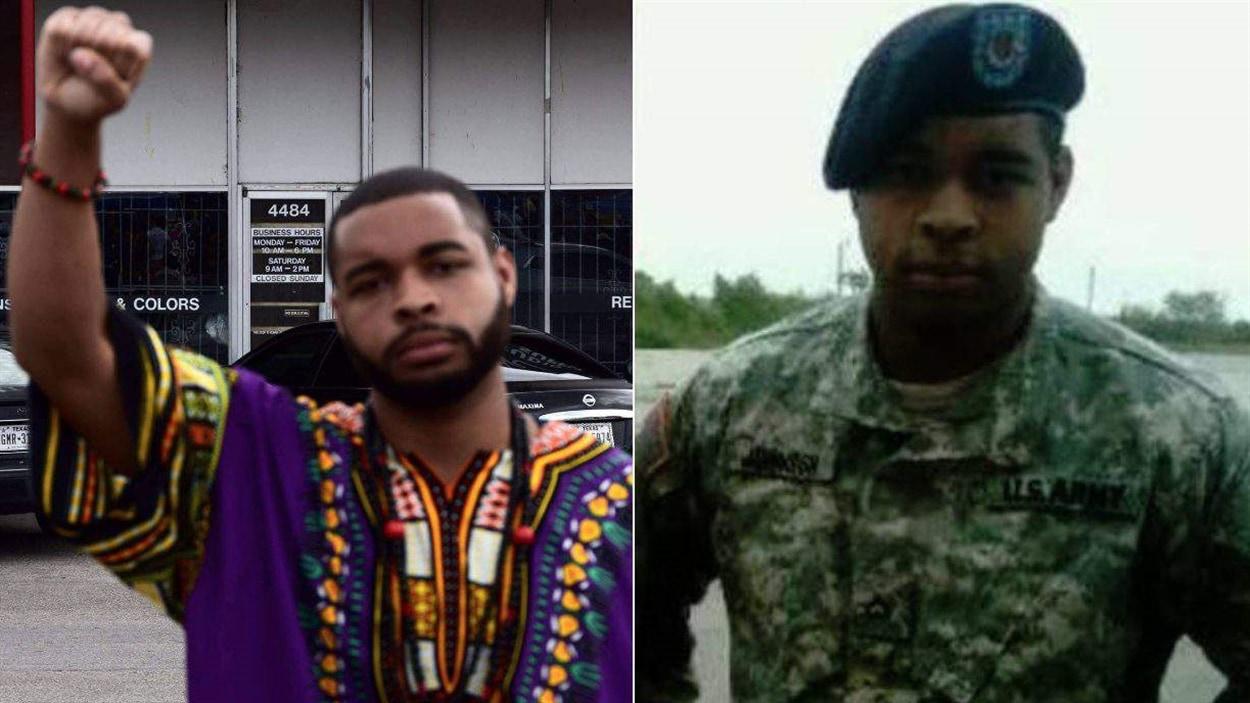 Le suspect Micah Xavier Johnson a servi dans l'armée américaine de 2009 à 2015.