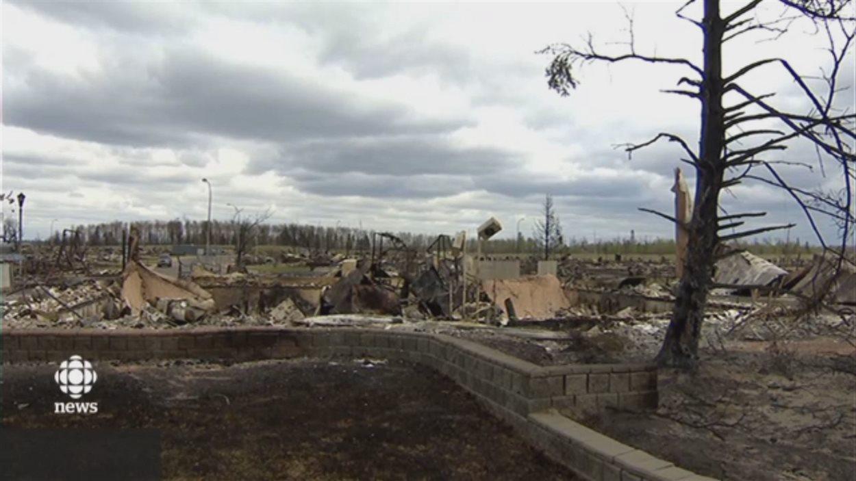 Le sol de Fort McMurray n'a pas été rendu toxique pour les êtres humains par le passage d'un feu de forêt dans la ville en mai.