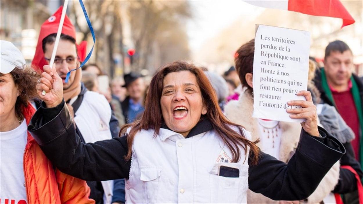 Nadia Remadna, présidente et fondatrice de l'association française, Brigade des mères