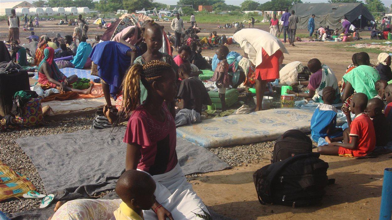 Au moins 300 personnes ont cherché refuge à Juba, au Soudan du Sud.