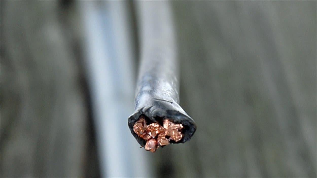Le cuivre volé valait à peine 100 $, selon Newfoundland Power.