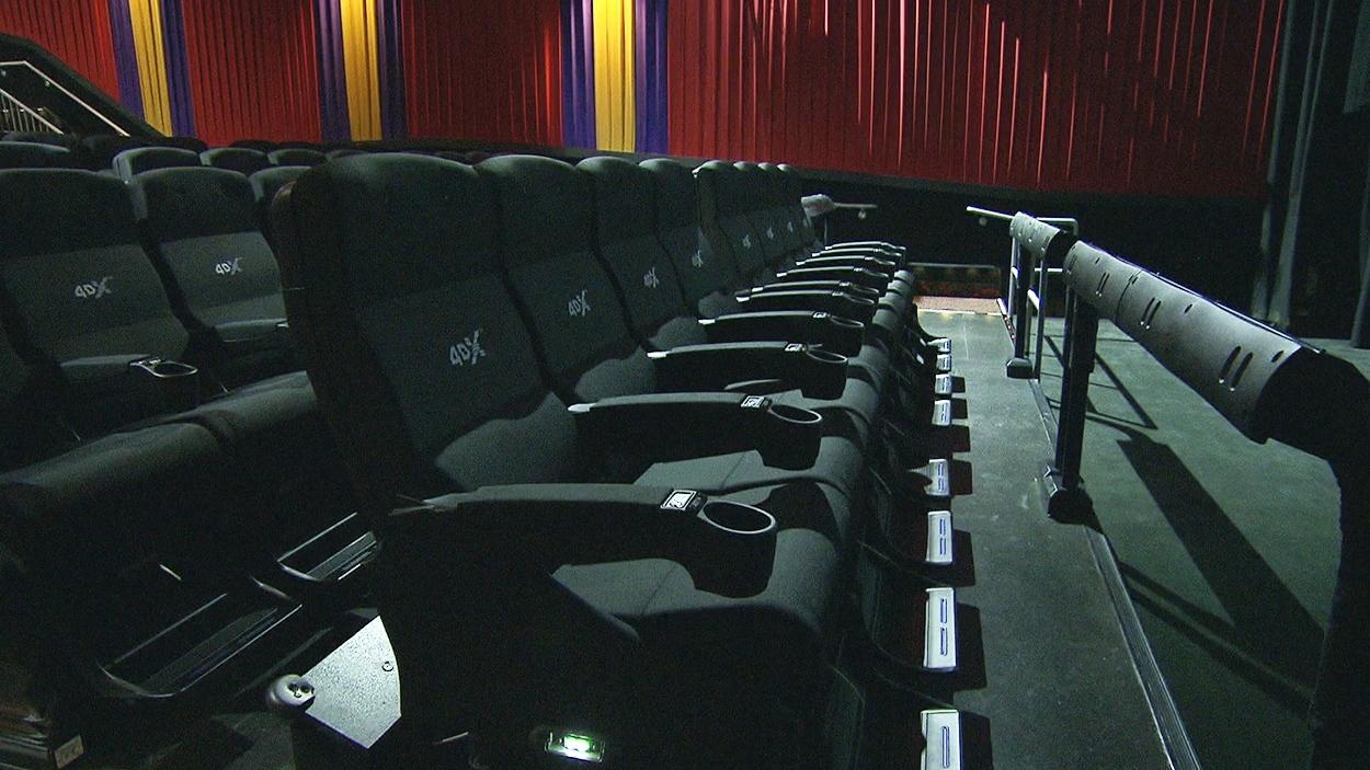 Une salle de cinéma 4DX