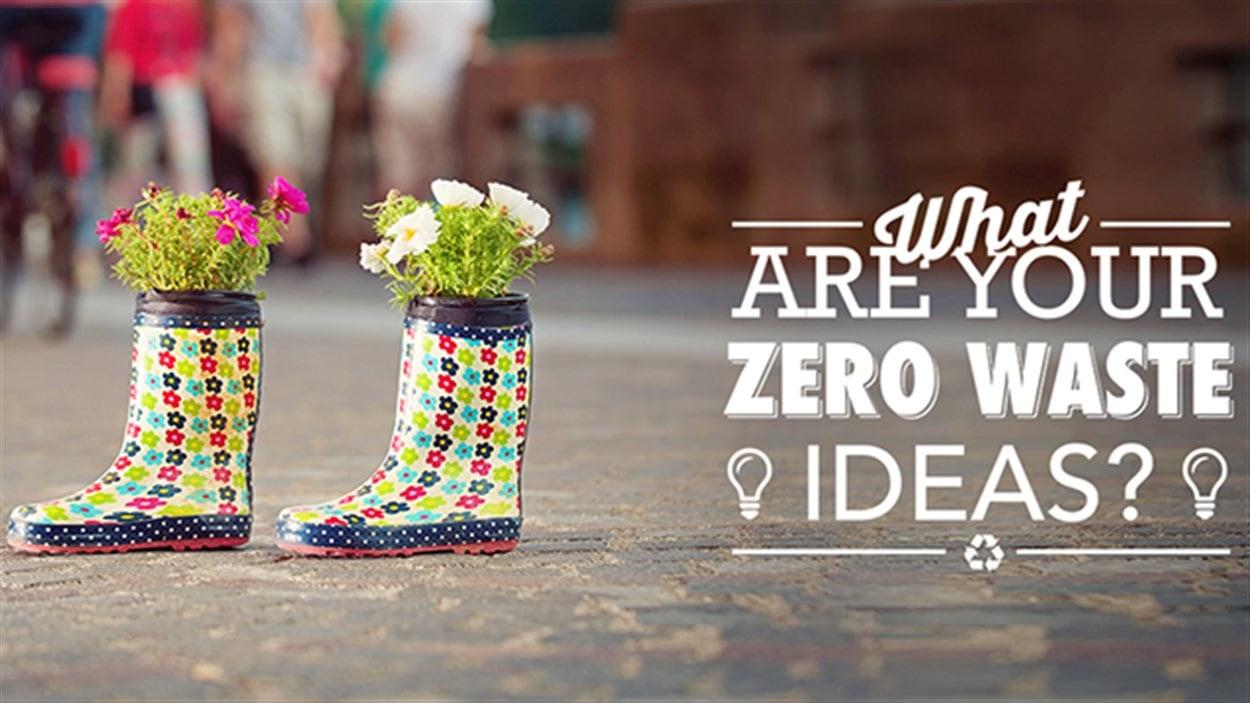 La Ville de Vancouver appelle ses résidents à partager leurs idées les plus créatives pour réduire la quantité de déchets.