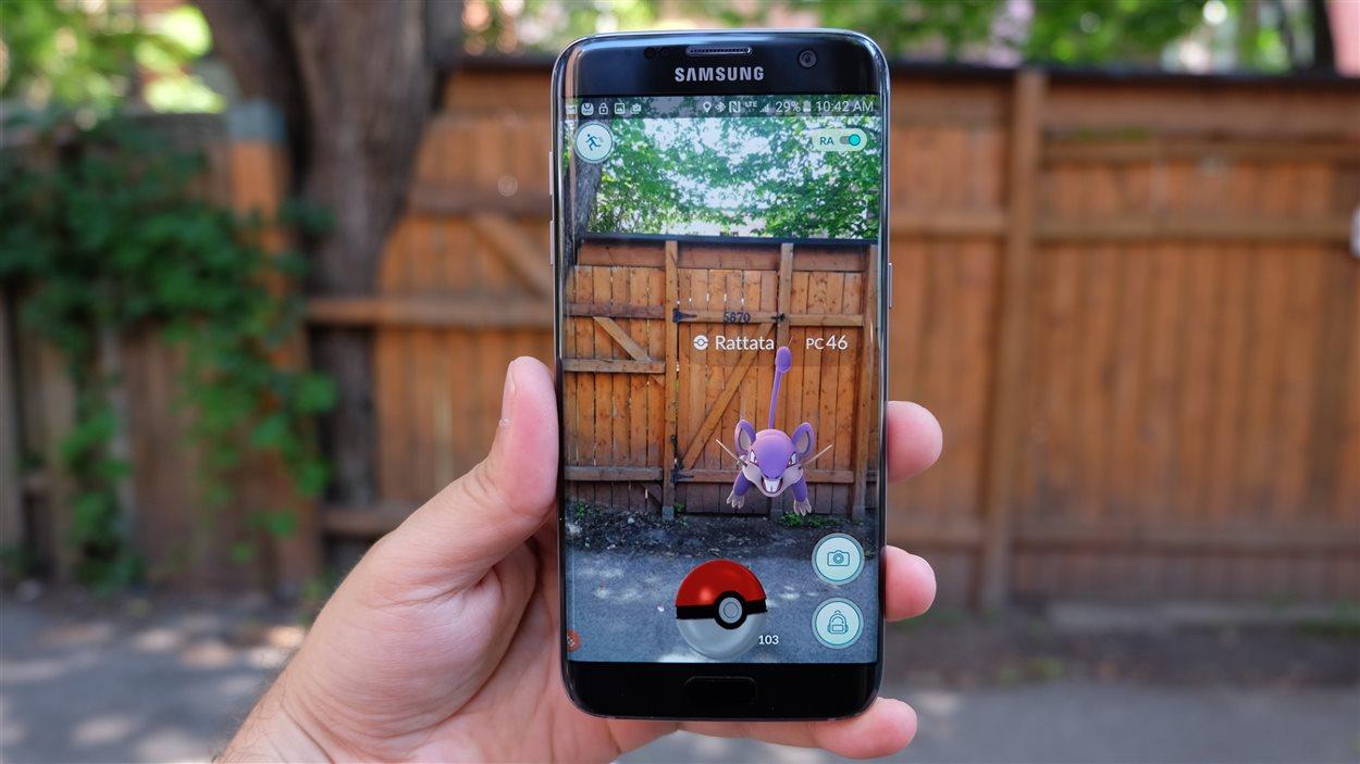 Le jeu mobile Pokémon Go