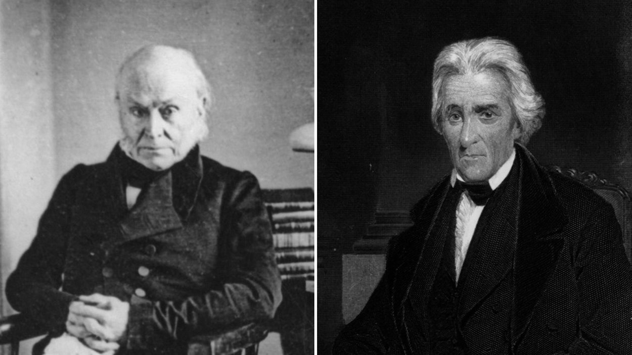 John Quincy Adams et Andrew Jackson