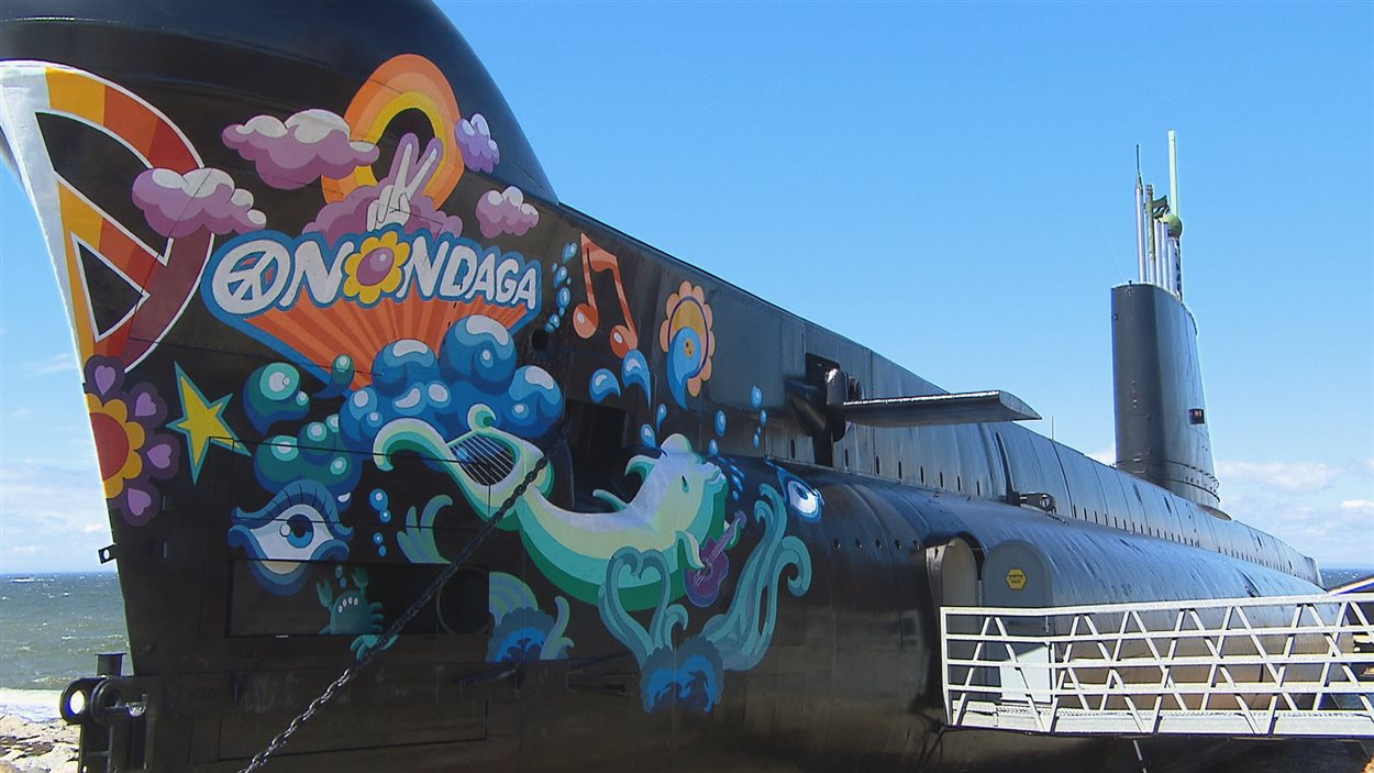 Le sous-marin Onondaga