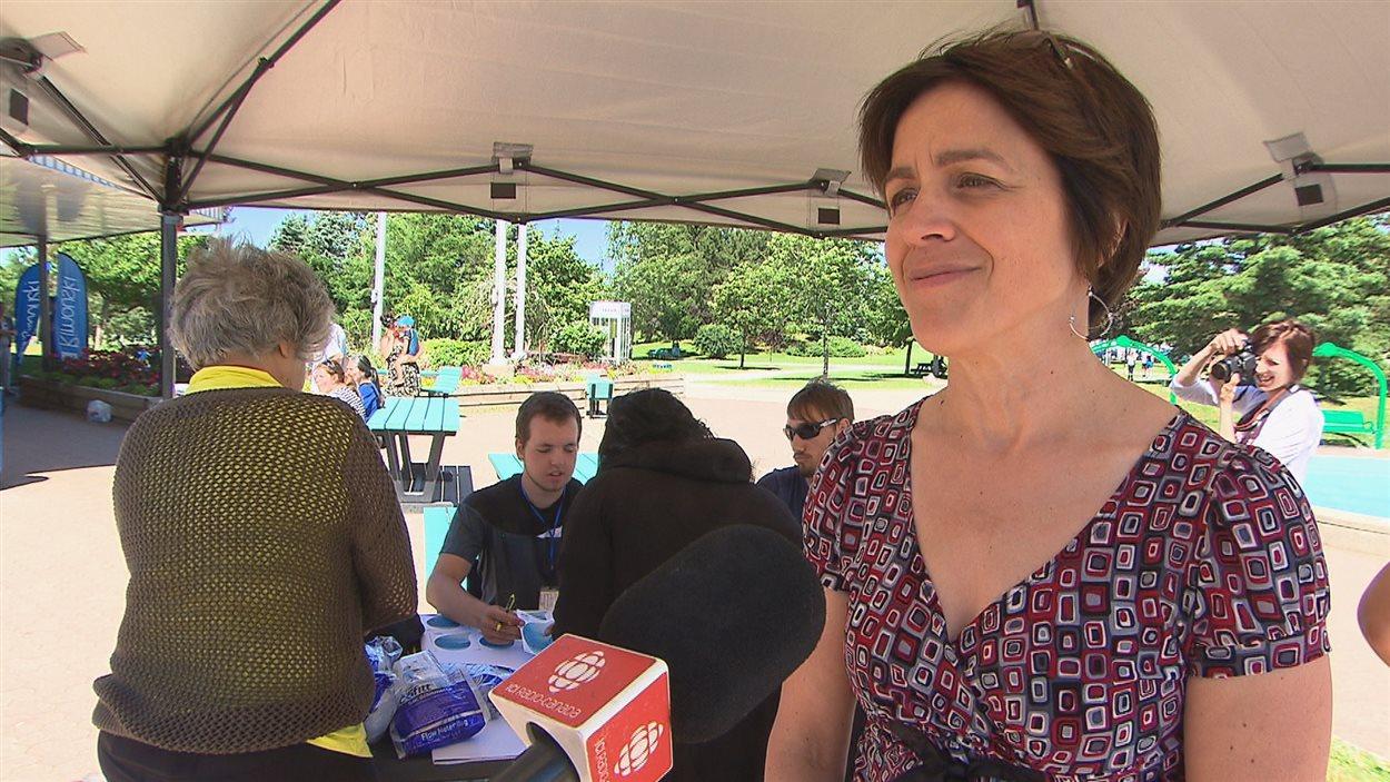 Claire Lafrance, coordonnatrice en environnement à la Ville de Rimouski