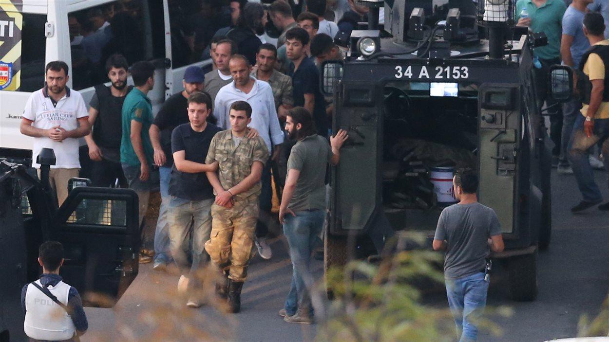 Un soldat ayant participé au coup d'État est arrêté.